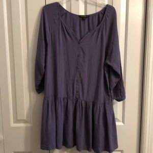 Velvet heart size M  purple dress with pockets